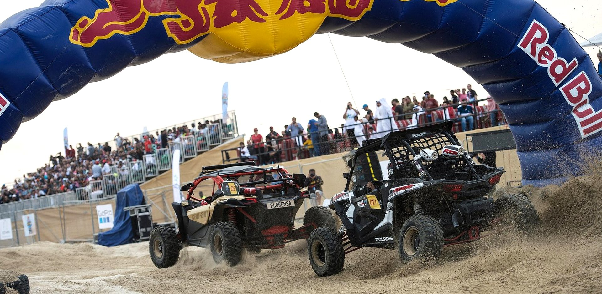 Гонки Red Bull SSV в Катаре: победа Can-Am Maverick