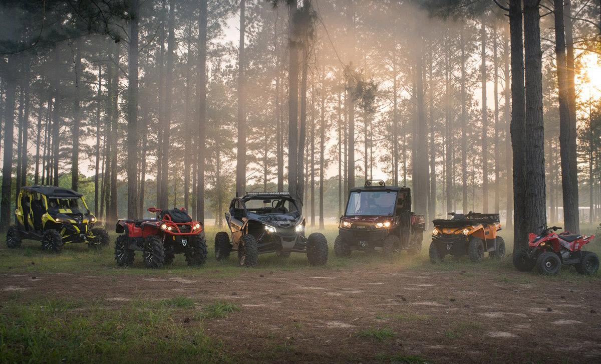 Модельний ряд CAN-AM Off-Road 2018 — підвищена потужність і різноманітність конфігурацій!