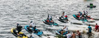 Отчет с 1-го этапа Чемпионата Украины по аквабайку, который прошел 16-18.06 в Киеве