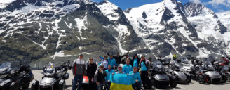8-11 июня 2017 состоялось интересное событие – покорение альпийской вершины Гроссглокнер (Австрия) на родстерах Can-Am Spyder.