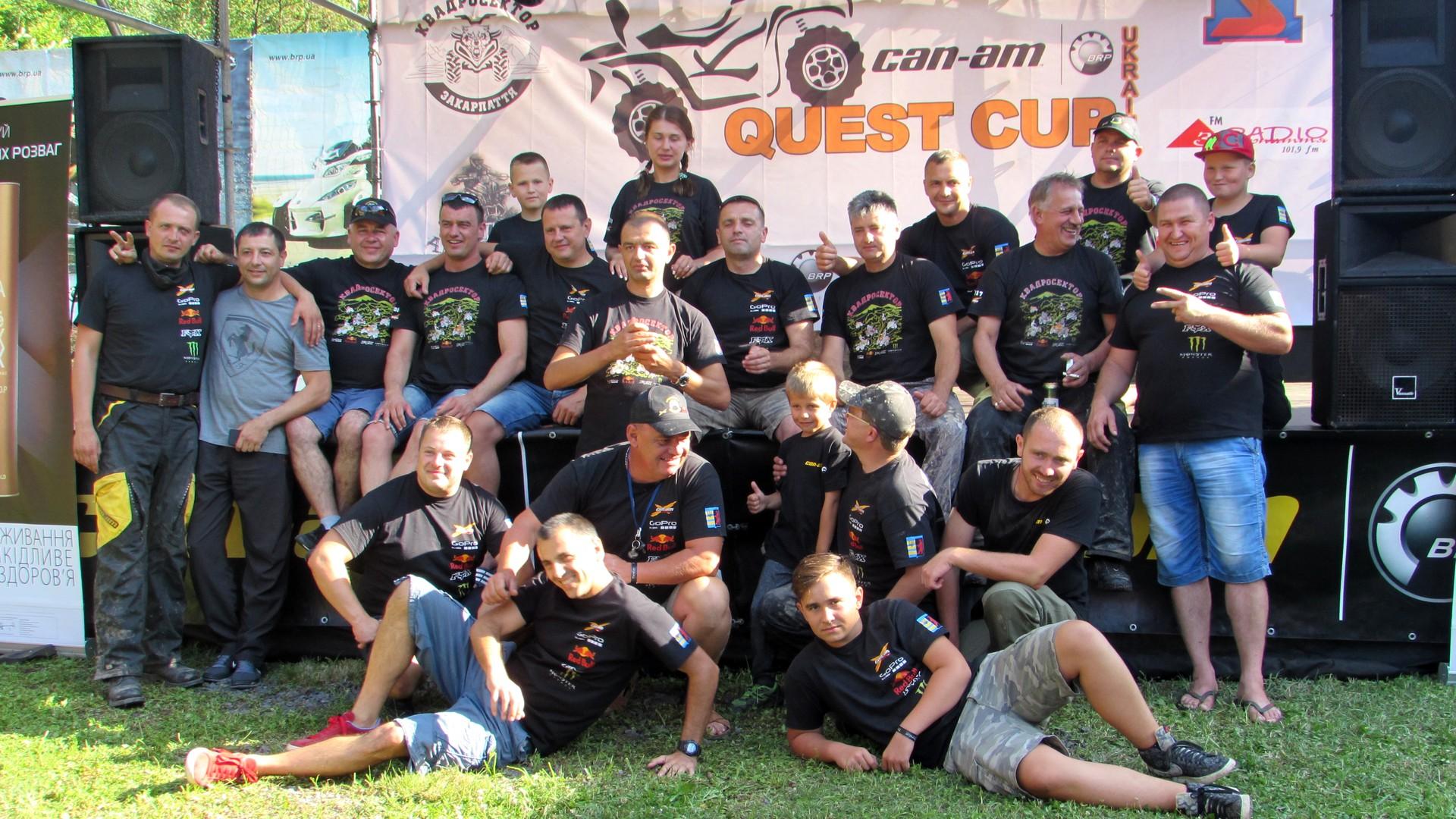 Отчет с четвертого этапа серии «CAN-AM QUEST CUP», Мукачево.