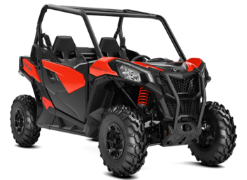 Maverick Trail DPS 800 Black-Can-Am Red 2019 '19