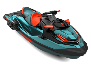 WAKE PRO 230 Teal Blue Metallic/Lava Red '18