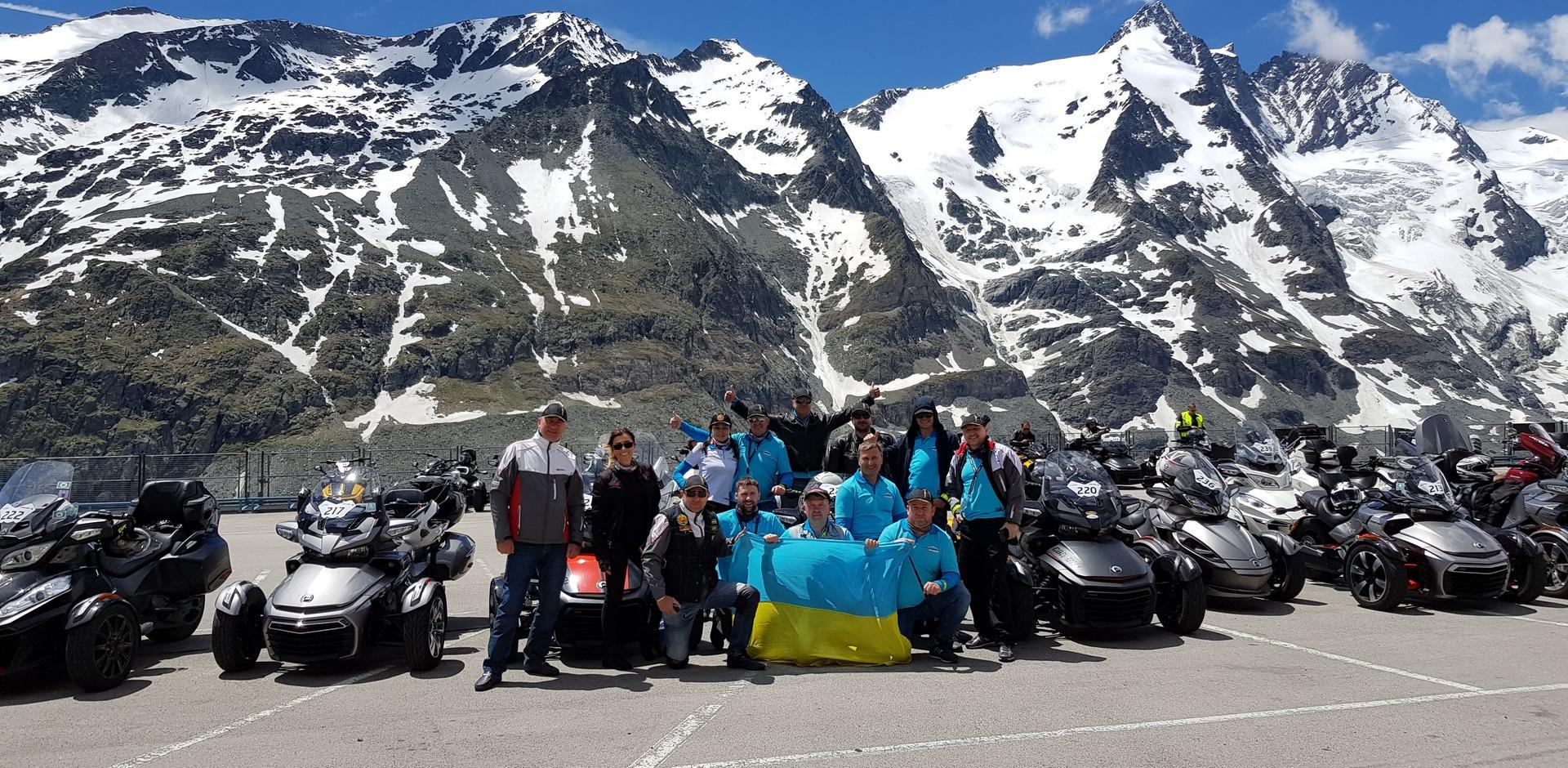 Внимание! Началась регистрация на ежегодное мероприятие «Can-Am Spyder Grossglockner Challenge» 2018, которое пройдет 7-10 июня 2018 года в Австрии!