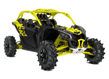 MAVERICK X3 X-MR TURBO R Sunburst Yellow '19