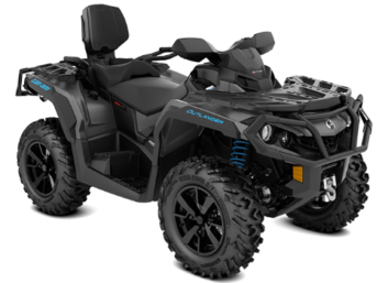 OUTLANDER MAX XT 650 Iron Gray & Octane Blue '20