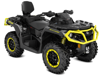 OUTLANDER MAX XT-P 1000R Carbon Black-Sunburst Yellow '19