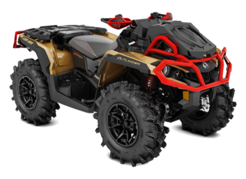 OUTLANDER X MR 1000R Liquid Gold-Can-am Red '19