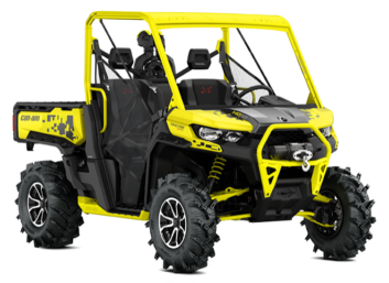 TRAXTER X MR HD10 Carbon Black-Yellow Accents '19