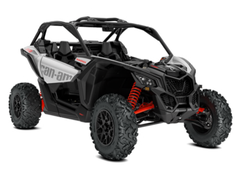 MAVERICK X3 TURBO Hyper Silver & Can-Am Red '20