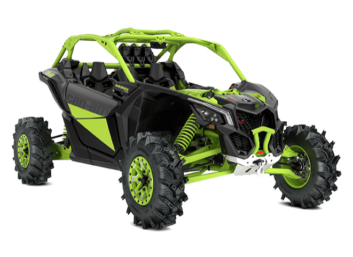 MAVERICK X3 X-MR TURBO RR Iron Gray & Manta Green '20