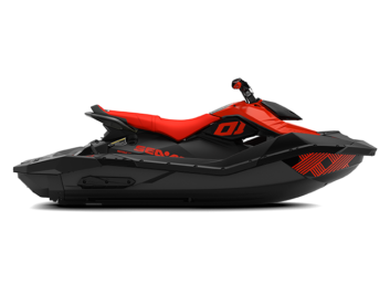 SPARK TRIXX 90 Lava Red & Deep Black 3-х местный '21
