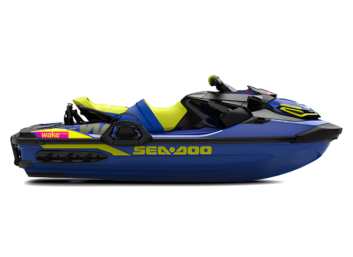 WAKE PRO 230hp Sound System Malibu Blue & Neon Yellow '21