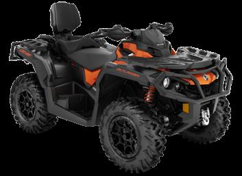Outlander MAX 1000R XT-P Carbon Phoenix Orange / Carbon Black '21