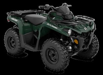 Outlander STD 450 Tundra Green '22