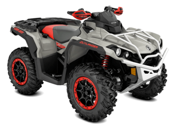 Outlander X XC 1000R Chalk Gray & Can-Am Red '22