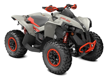 Renegade X XC 1000R Chalk Gray & Can-Am Red '22
