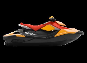 SPARK 2up STD 60 Orange Crush & Lava Red '22