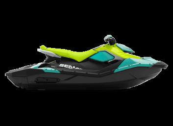 SPARK 2up IBR STD 90 Reef Blue & Manta Green '22