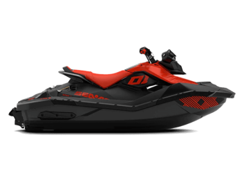 SPARK 2up IBR Trixx 90 Lava Red & Deep Black '22
